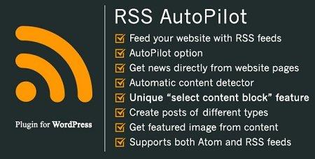 دانلود افزونه خبرخوان RSS AutoPilot وردپرس