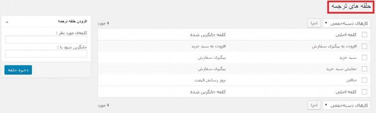فارسی سازی فروشگاه اینترنتی وردپرس