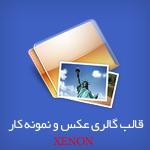 قالب گالری عکس و نمونه کار Xenon برای وردپرس