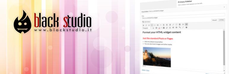 افزونه Black Studio TinyMCE Widget | افزونه کاربردی وردپرس