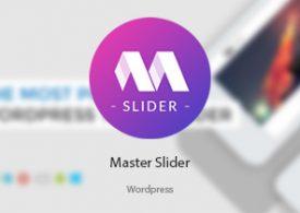 افزونه Master Slider | اسلایدر لمسی وردپرس
