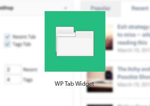 افزونه WP Tab Widget | افزونه وردپرس
