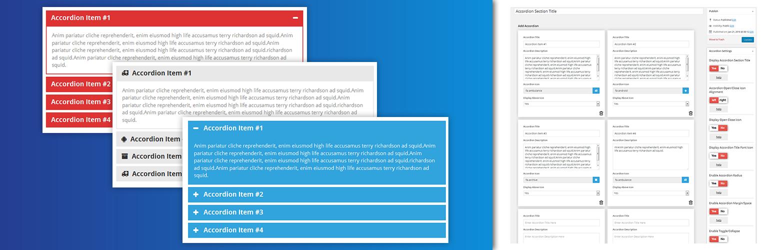 افزونه Accordion FAQ   آکاردئون برای وردپرس