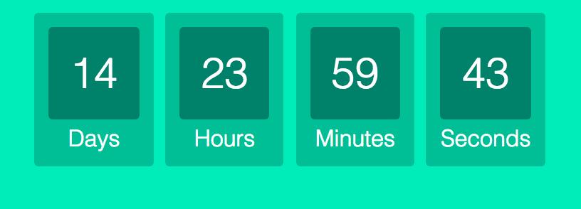 افزونه Countdown Timer – Widget Countdown | تایمر برعکس برای وردپرس