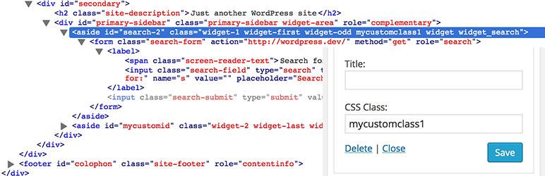 افزونه Widget CSS Classes | افزونه کاربردی وردپرس