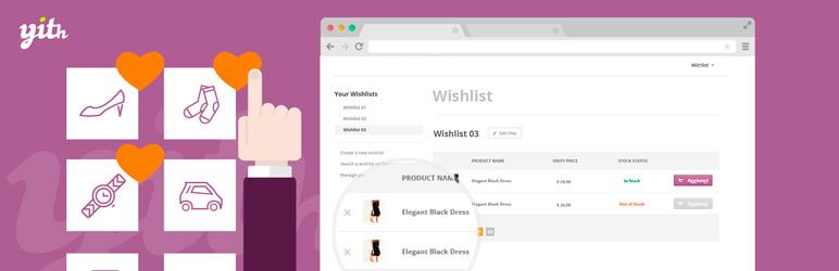 افزونه YITH WooCommerce Wishlist | مقایسه محصولات ووکامرس
