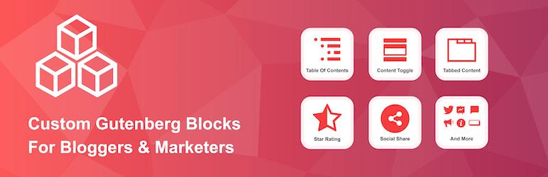 افزونه Ultimate Blocks – Custom Gutenberg Blocks | گوتنبرگ