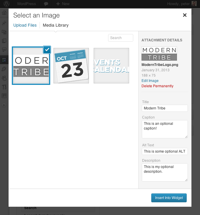 دانلود افزونه Image Widget