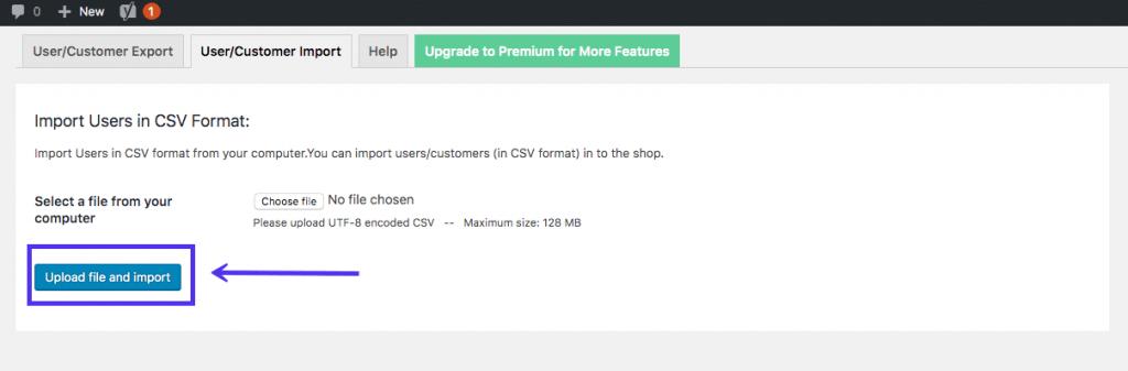 Import Export WordPress Users 2 1024x337 - نحوه خروجی گرفتن از کاربران در وردپرس