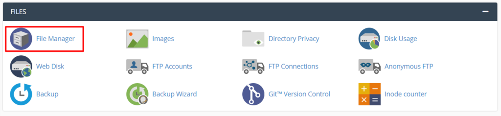 cPanel file manager - نحوه ایجاد فایل .htaccess در سی پنل - سریع و آسان