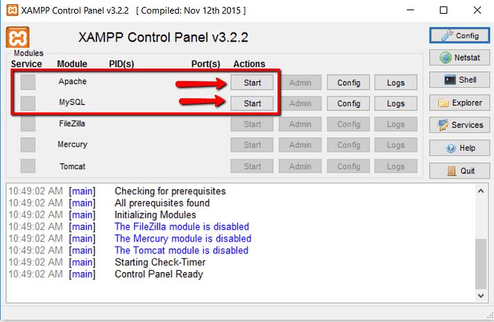 how to install xampp and wordpress 10 - نصب وردپرس روی لوکال هاست با زمپ