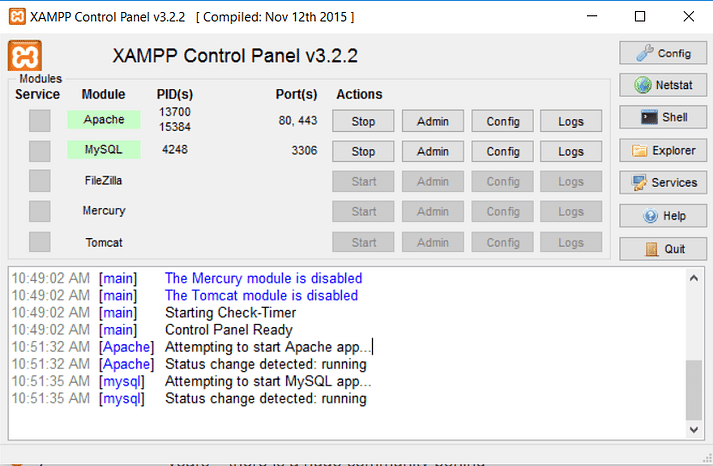 how to install xampp and wordpress 11 - نصب وردپرس روی لوکال هاست با زمپ