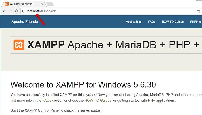 how to install xampp and wordpress 12 - نصب وردپرس روی لوکال هاست با زمپ