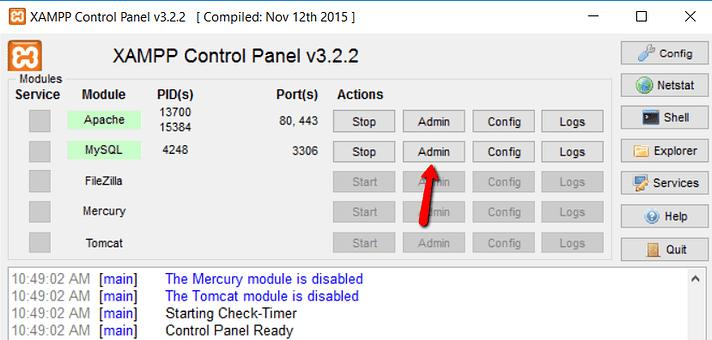 how to install xampp and wordpress 15 - نصب وردپرس روی لوکال هاست با زمپ