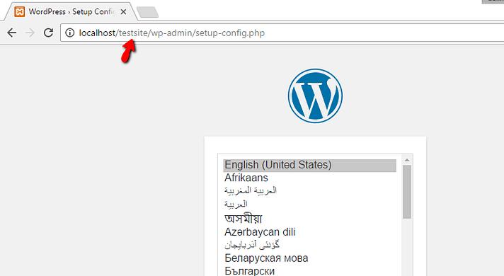 how to install xampp and wordpress 18 - نصب وردپرس روی لوکال هاست با زمپ