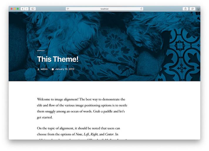 new WordPress site installed on XAMPP - نصب وردپرس روی لوکال هاست با زمپ