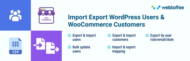 users customers import export for wp woocommerce - نحوه خروجی گرفتن از کاربران در وردپرس