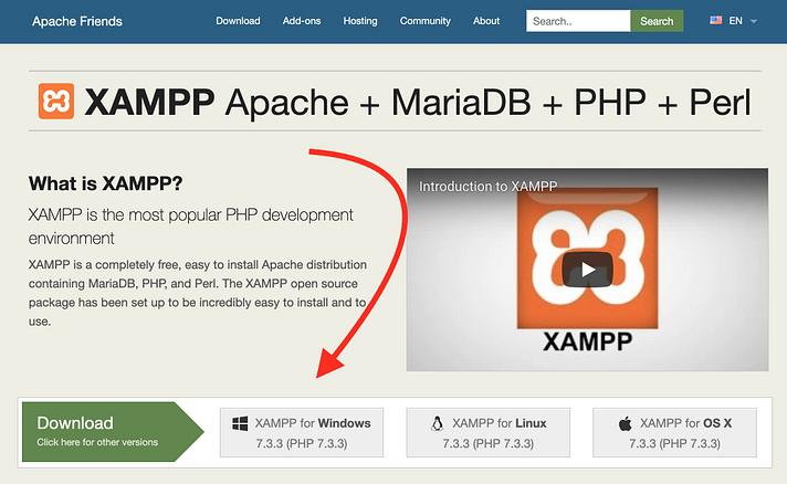xampp - نصب وردپرس روی لوکال هاست با زمپ