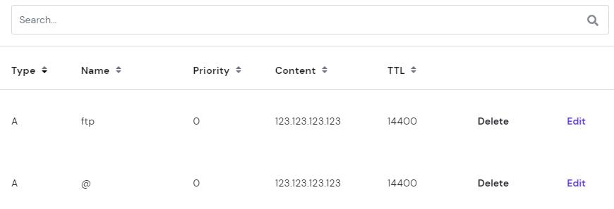 DNS records 1 - خطای 403 چیست و چگونه باید آن را رفع کرد؟ (8 روش مختلف)