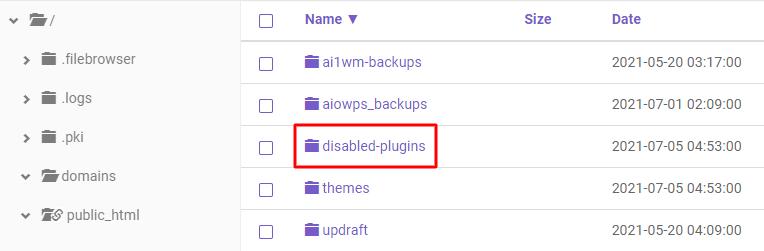 Disabled plugins - خطای 403 چیست و چگونه باید آن را رفع کرد؟ (8 روش مختلف)