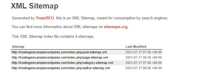 XML sitemap url - نقشه سایت وردپرس چیست و چگونه می توان آن را ایجاد کرد؟