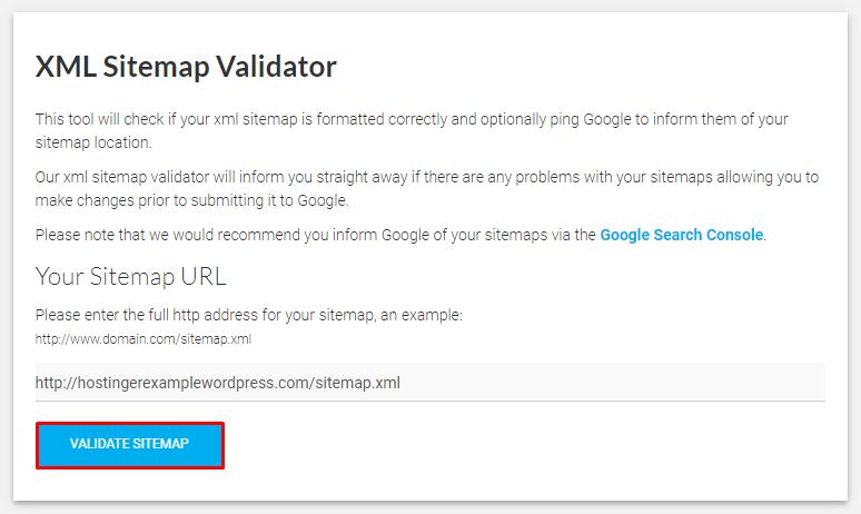 XML sitemap validator - نقشه سایت وردپرس چیست و چگونه می توان آن را ایجاد کرد؟