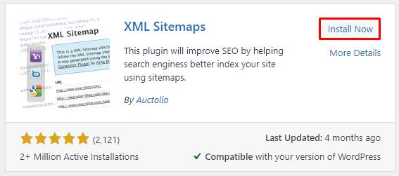 XML sitemaps install - نقشه سایت وردپرس چیست و چگونه می توان آن را ایجاد کرد؟