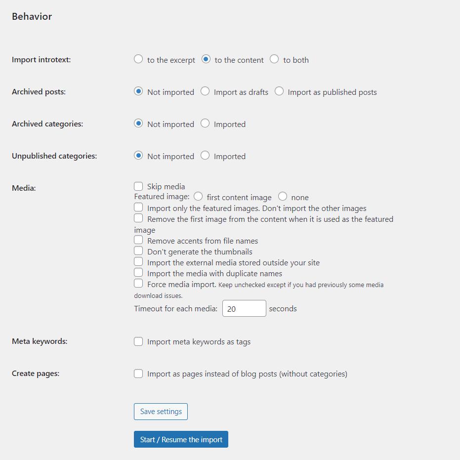 behavior - چگونه می توان وب سایت خود را از جوملا به وردپرس منتقل کرد + در 5 مرحله