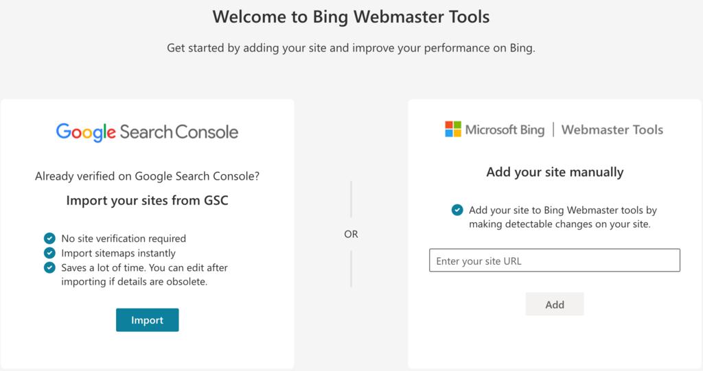 welcome bing webmaster tool - نقشه سایت وردپرس چیست و چگونه می توان آن را ایجاد کرد؟