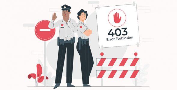 خطای 403 چیست و چگونه باید آن را رفع کرد؟ (8 روش مختلف)