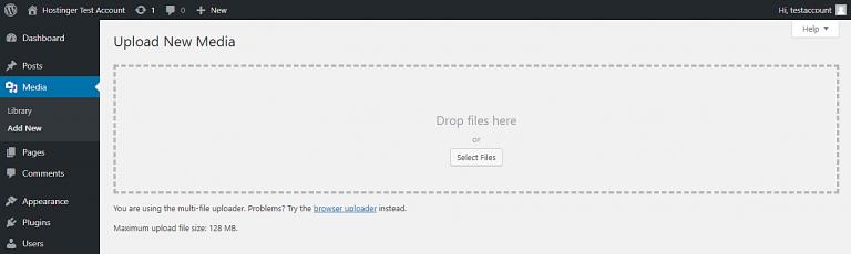 wordpress upload file size 768x230 1 - افزایش محدودیت حجم آپلود فایل در وردپرس